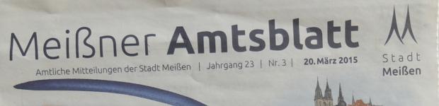 Meißner Amtsblatt